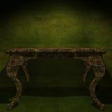 Mobilia di legno antica Fotografia Stock Libera da Diritti