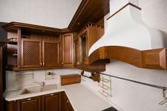 Mobilia domestica di cucina. Immagine Stock Libera da Diritti