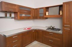 Mobilia domestica di cucina. Fotografia Stock
