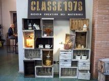 Mobilia e mostra di progettazione in Foligno, Italia centrale immagini stock libere da diritti
