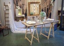 Mobilia e mostra di progettazione in Foligno, Italia centrale immagini stock