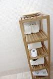 Mobilia ed accessori del bagno Immagini Stock Libere da Diritti