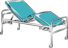 Mobilia medica Letto Immagini Stock