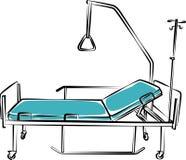 Mobilia medica Letto Immagine Stock Libera da Diritti