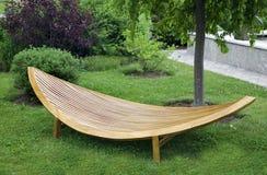 Mobilia moderna del giardino Immagine Stock Libera da Diritti