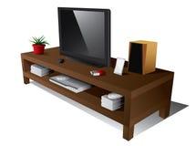 Mobilia progettata elegante Fotografia Stock Libera da Diritti