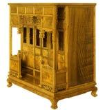 mobilia stile Ming di legno duro Immagini Stock Libere da Diritti
