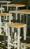 Mobilia tubolare Fotografie Stock