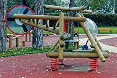 Mobilia urbana per i bambini 1 Immagini Stock Libere da Diritti