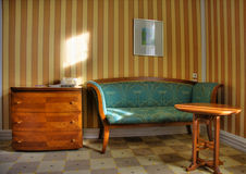 Mobiliario de la obra clásica de Nouveau del arte Fotografía de archivo