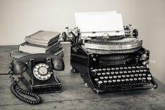 Mobiliario de oficinas del vintage