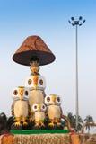 Mobilie della canna, artigianato indiani giusti Immagine Stock Libera da Diritti