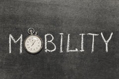 mobilità Immagine Stock Libera da Diritti