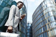 Mobilità e connettività urbane fotografia stock