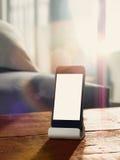 Mobiliteit en modern levensstijlconcept voor het gebruiken mobiles Stock Afbeelding