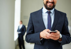Mobility in business Royalty Free Stock Images