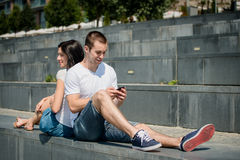 Mobility - couple lifestyle Royalty Free Stock Image