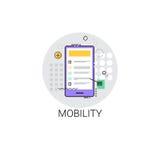 Mobility Icon Modern Smart Gadget Royalty Free Stock Photo