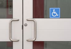 Mobility-impaired Entrance Royalty Free Stock Photography