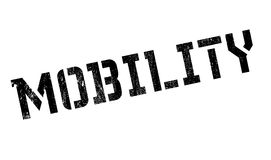 Mobility rubber stamp Stock Photos