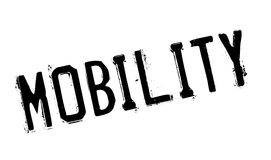 Mobility rubber stamp Royalty Free Stock Photo