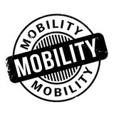 Mobility rubber stamp Royalty Free Stock Image