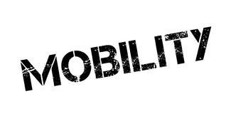 Mobility rubber stamp Royalty Free Stock Photos