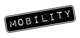 Mobility rubber stamp Royalty Free Stock Images