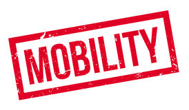 Mobility rubber stamp Stock Images