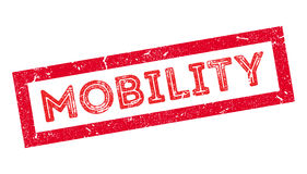 Mobility rubber stamp Stock Photo