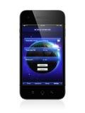Mobilna bankowość Obraz Royalty Free