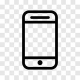 Mobilna ikona - wektorowy ikonowy projekt Ilustracji