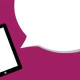 Mobilna reklama lub zawiadomienie oferta, sprzedaż - pojęcie ve Obraz Stock