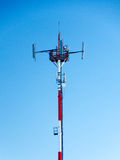 Mobilna sieci stacja bazowa Obraz Stock