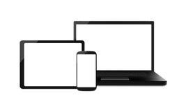 Mobilne Internetowe elektronika - XL Obrazy Royalty Free