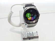 MOBILNY ŚWIATOWY kongres 2015 - LG G zegarek MIASTOWY Obrazy Stock