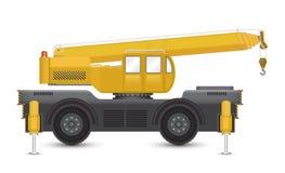 Mobilny żuraw royalty ilustracja