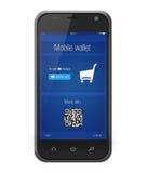 Mobilny bankowość portfel Fotografia Stock