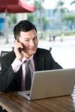 Mobilny konsultant obrazy stock