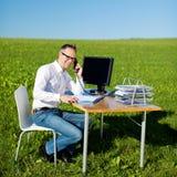 Mobilny konsultant zdjęcie stock