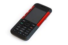 mobilny muzyczny telefon Obrazy Royalty Free