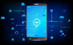 Mobilny Networking Zdjęcie Stock