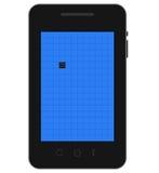 Mobilny nieżywy piksel Obrazy Royalty Free