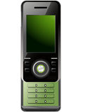 mobilny nowożytny telefon Zdjęcie Royalty Free