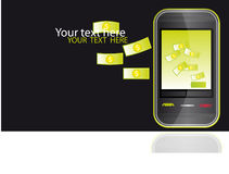 mobilny pieniądze Zdjęcie Stock