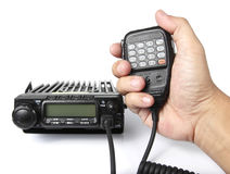 Mobilny Radiowy Transceiver Obrazy Royalty Free