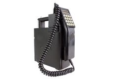 mobilny stary telefon Zdjęcia Royalty Free