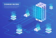 Mobilny technologii pojęcie Obrazy Stock