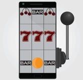 Mobilny Uprawiać hazard Zdjęcie Stock