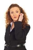 mobilny wiadomości telefonu zaskakiwanie Fotografia Stock
